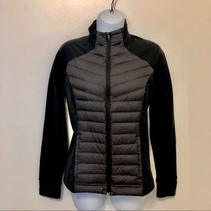 Lucy Black Tech COLD weather Jacket Down Sz Small
